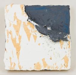 White Corner Rip, 8 x 8 x 1.5 in, oil on panel, 2015