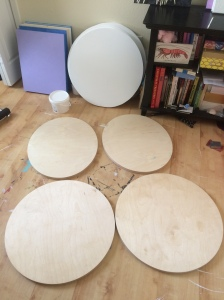 Round panels